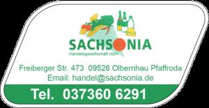 Sachsonia Handeslgesellschaft mbH Olbernhau Pfaffroda